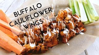 Cripsy Buffalo Cauliflower Wings | Plantifully Based
