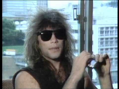 Bon Jovi - Slippery When Wet, the Videos interview
