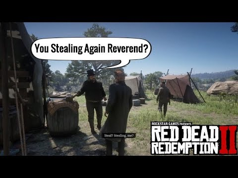Swanson get Caught Stealing from the Box | Red Dead Redemption 2 thumbnail