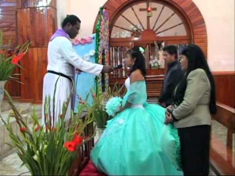 Misa en los XV Años de Laura  en Pantepec Puebla por Video Tauro de Isidro Lorenzo Saludos a la Fami