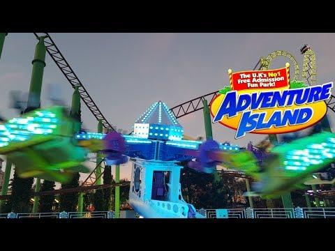 Adventure Island Southend Vlog 2019
