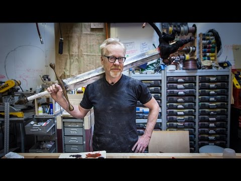 Adam Savage's One Day Builds: Hellboy Sword!