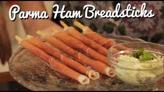 Parma Ham Breadsticks - Simple Canapes