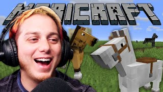 Becoming Horse Girls In Minecraft VR | Maricraft VR 180º