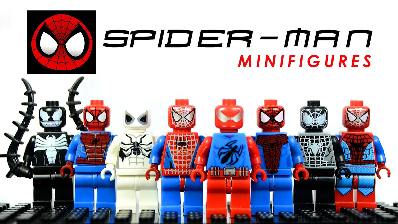 Lego the amazing spider man knockoff minifigures set 2 w - Lego spiderman 2 ...