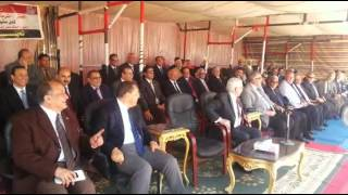 Minister of Higher Education and university presidents in the new Suez Canal and dazzle large