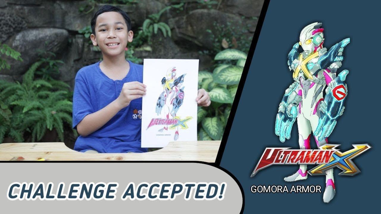 Ultraman X RTV : Mewarnai Ultraman X Gomora Armor || RTVlog