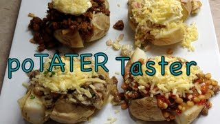 Stuffed Spud Tater Taster Video Recipe Cheekyricho