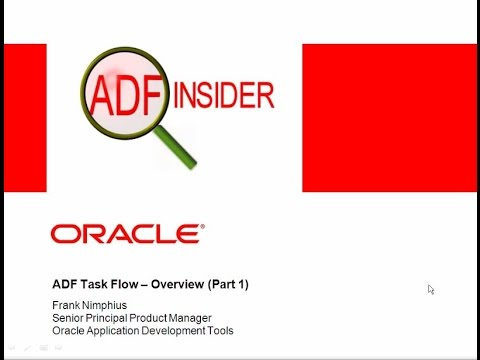 How to Create Task Flows in ADF-- Part 1