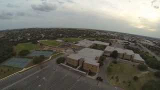Drone Visit to Tom C Clark High School