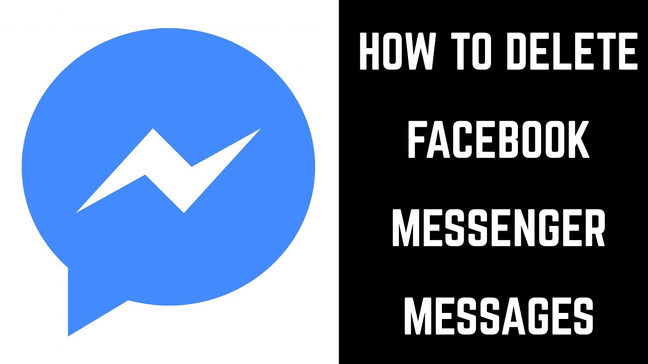 How to Delete Facebook Messenger Messages