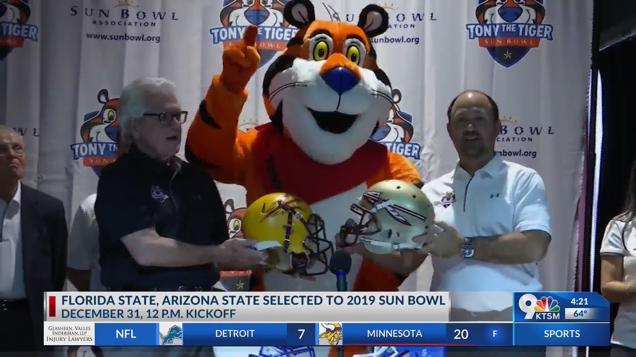 Sun Bowl Depth Chart: Florida State vs. Arizona State