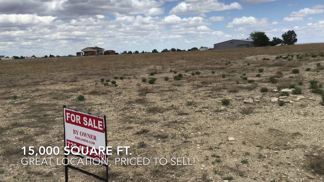 Commercial lot in Pueblo West FSBO