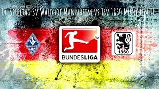 21.10.17 Sv Waldhof Mannheim vs Tsv 1860 München II