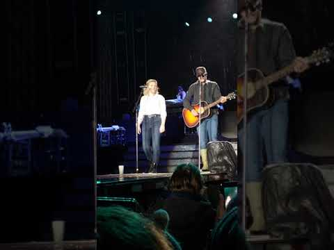 Luke bryan & maddie poppe covering picture by Sheryl crow and kid rock