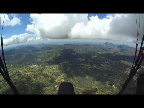Paragliding Dunlap April 2016