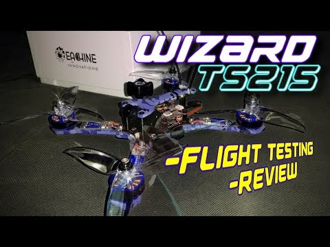 Eachine Wizard TS215 - Review & Flight Testing - Excellent!! Courtesy of Banggood.com