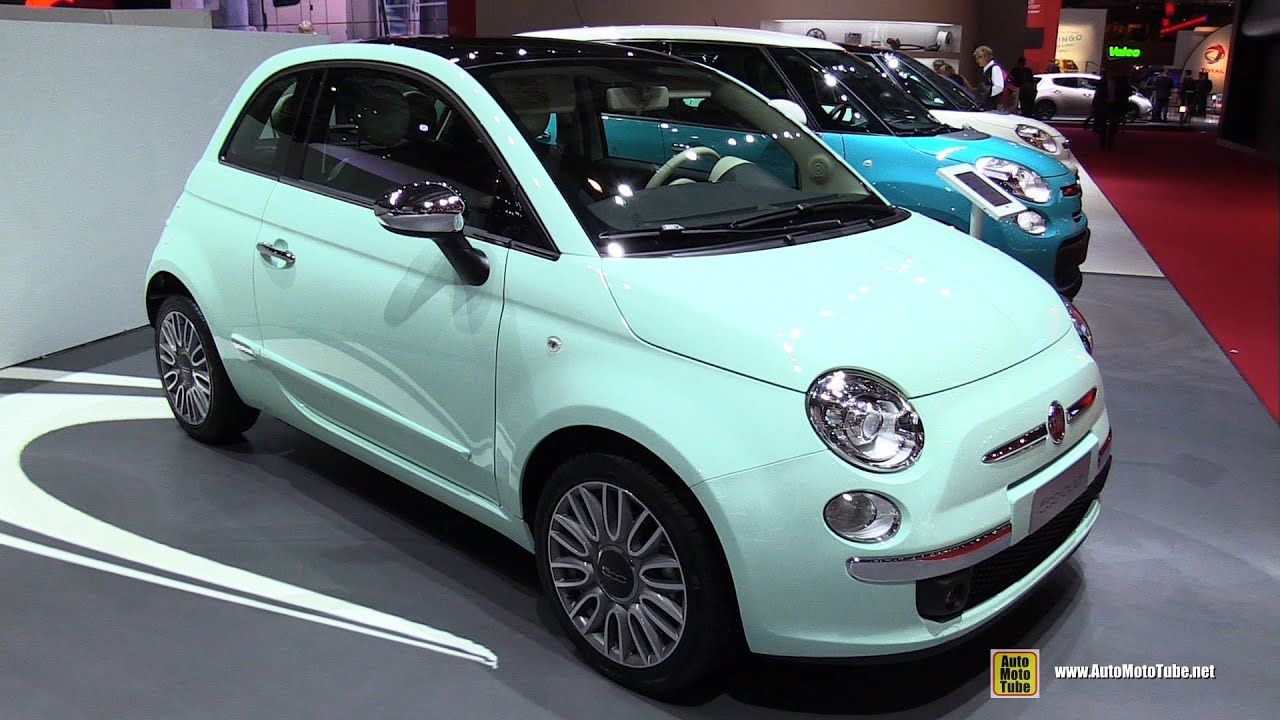 2015 Fiat 500 Cult - Exterior and Interior Walkaround - 2014 Paris