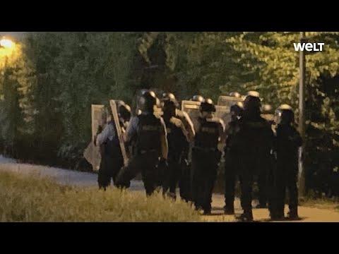 Dietzenbach (Hessen): Angriff aus Hinterhalt? Polizei und Feuerwehr mit Steinen attackiert