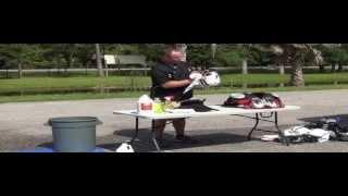 Locker Shield Cleaning Football Equipment