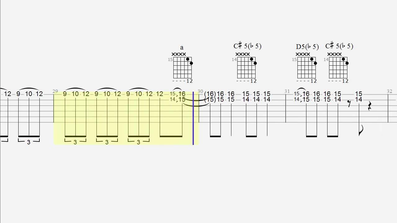 Guitar Tab Shadow Boogie Play Along Youtube