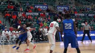 Highlights of round two MBB vs Sam Houston State
