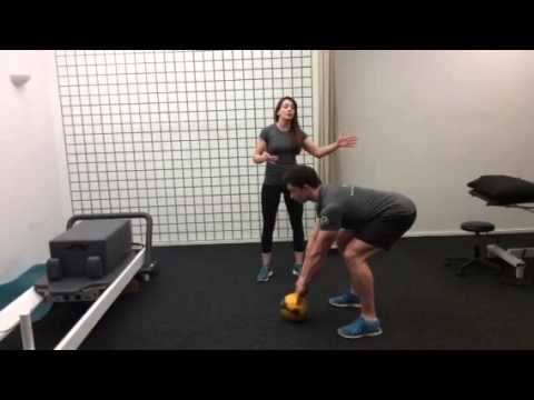 Perfecting the Kettlebell swing  by Clodagh Loughnane