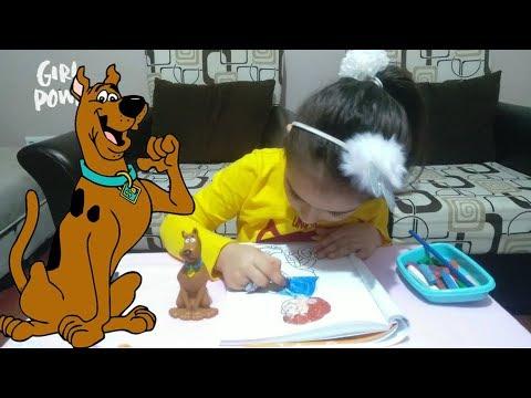Scooby Doo Ile Boyama Yapıyorum Paint With Scoobert And Fred Jones
