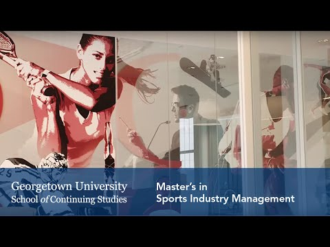 Master's in Sports Industry Management: Student & Faculty Interview
