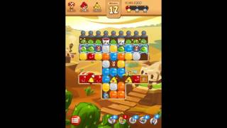Angry Birds Blast Level 92 Almost Completed but Crashed