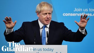 Next prime minister: Boris Johnson's first speech as Tory leader