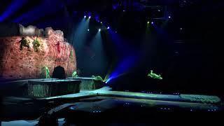 Цирк Дю Солей OVO Выступление гимнастов кузнечиков Cirque Du Soleil