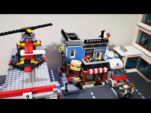 Budujemy Wielkie Lego Miasto 18 Sklep Część 2 Youtube