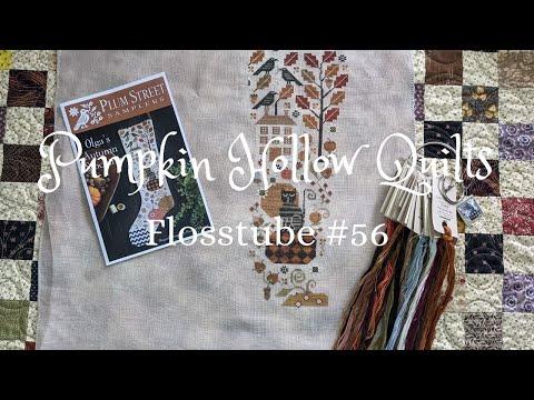 Flosstube #56 ~ Cross Stitch, Addie Sutton Sampler and Frozen Winter Days!