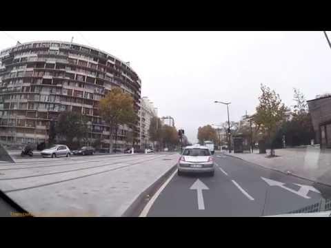 Driving In Paris - Boulevard Soult