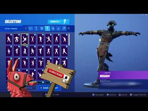 PLAGUE SKIN SHOWCASE WITH ALL FORTNITE DANCES & EMOTES