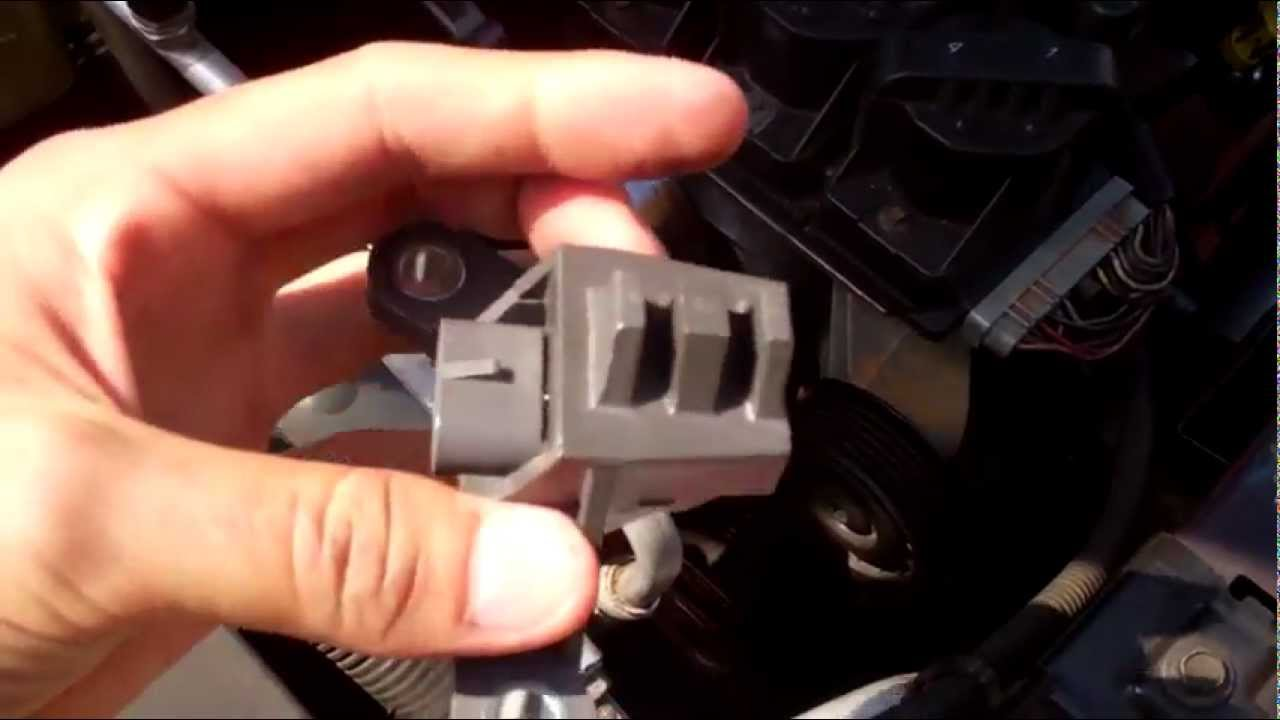 hight resolution of 2000 pontiac bonneville ssei 3800 crank sensor replacement repair fix