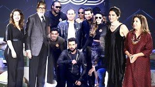 Uncut: Yuvraj Singh's Youwecan Brand Launch Deepika,chris Gayle,sehwag,bravo,rohit Sharma,kajol