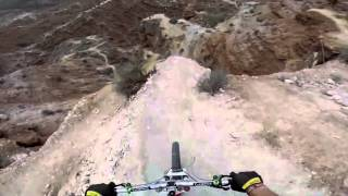 Такого спуска с горы еще не было (most reckless lowering from a mountain)(GoPro: Backflip Over 72ft Canyon - Kelly McGarry Red Bull Rampage 2013 100% on the HD HERO3+® camera from http://GoPro.com. most reckless lowering in ..., 2013-10-25T09:53:03.000Z)