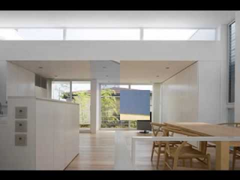 Japanese minimalist house design - YouTube