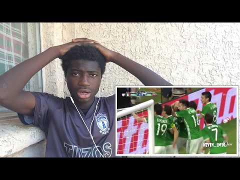 Mexico 5 Best Goals (Reaction)