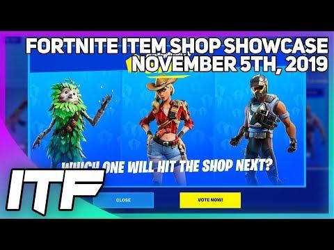 Fortnite Item Shop *NEW* COMMUNITY CHOICE! [November 5th, 2019] (Fortnite Battle Royale)