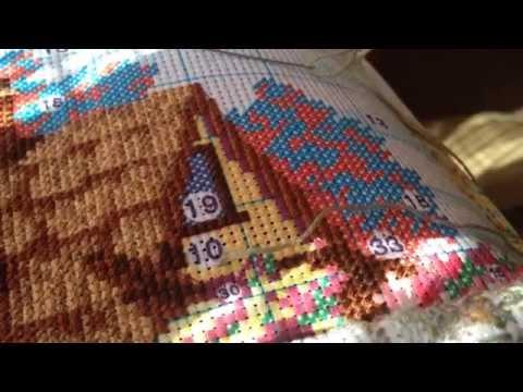 Вышивка Крестиком Техника вышивки