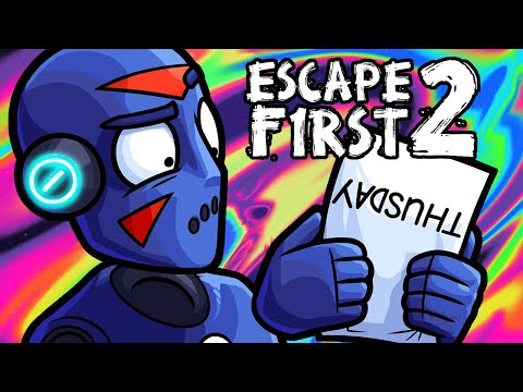 Escape First 2 Funny Moments - Visiting Delirious' Father!