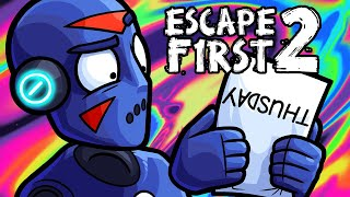 Escape First 2 Funny Moments - Visiting Delirious