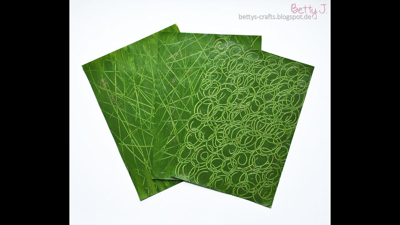 Papier Selber Machen gemustertes papier selber machen your own patterned paper