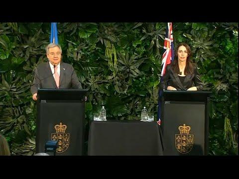 غوتيريش يلتقي رئيسة وزراء نيوزيلندا ويوجه رسالة إلى متضرري مذبحة المسجدين في رمضان…