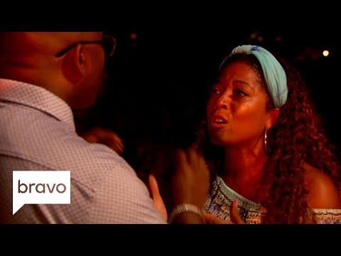 Uptown Angela - Antigua Blues!!! Married to Med Sneak Peek!