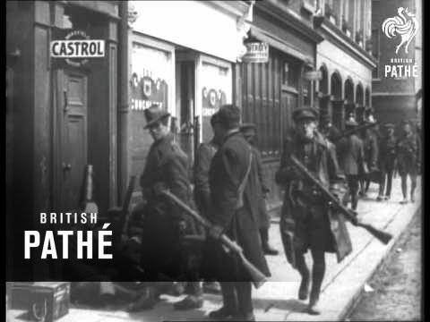 Dublin Ireland In The Wake (1922)