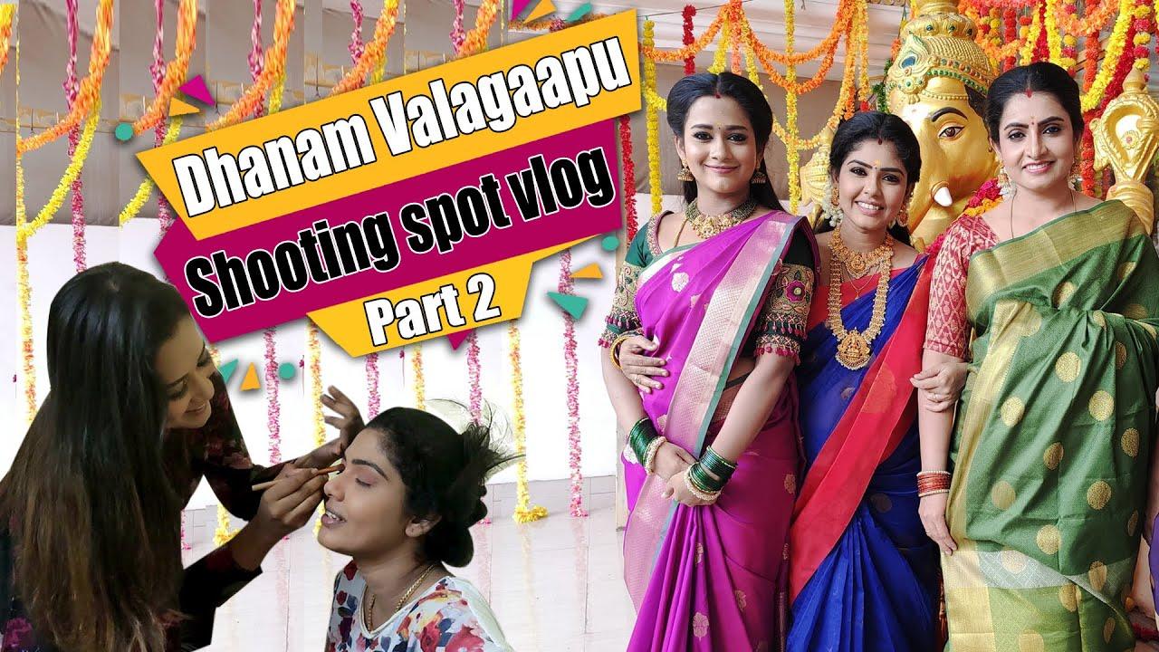 Dhanam Valagaapu Vlog Part -2 | Directly From PS Set | Shooting Vlog | Hema's Diary
